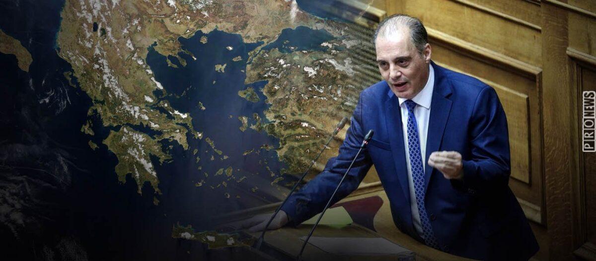 Κ.Βελόπουλος για επικεφαλής ελληνικής ομάδας διερευνητικών με Άγκυρα: «Στείλατε τον Εφιάλτη στις Θερμοπύλες»