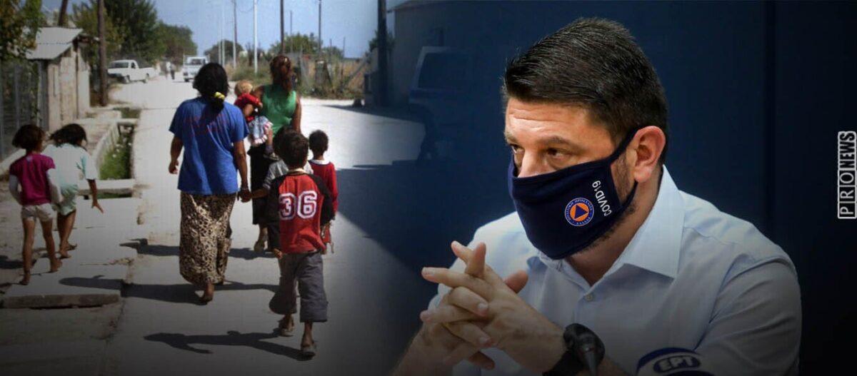 Μία ακόμα περιοχή με αλλοδαπούς και Ρομά σε ολικό lockdown: Το Μενίδι σε «κατάψυξη»