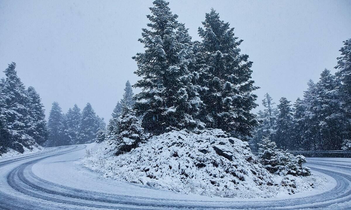 Καιρός: Εκτακτο δελτίο από την ΕΜΥ για πυκνές χιονοπτώσεις και σε πεδινά
