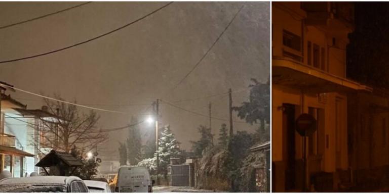 Ξεκίνησε η κακοκαιρία «Λέανδρος»: Στα λευκά η Βόρεια Ελλάδα -Χιονίζει σε Θεσσαλονίκη, Κοζάνη, Κιλκίς και Φλώρινα