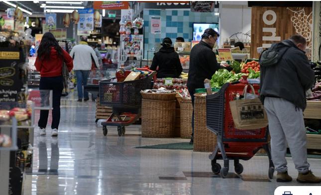 Κλείνουν στις 18:ΟΟ σήμερα λόγω της κακοκαιρίας τα σούπερ μάρκετ της Αττικής