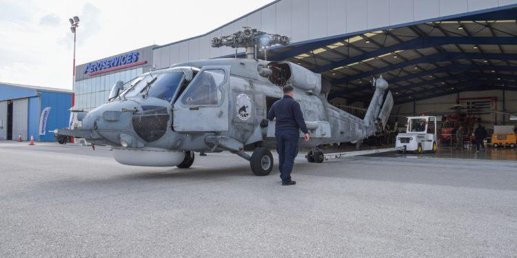 Sikorsky S-70: Υποστήριξη των Ελικοπτέρων του ΠΝ από εγχώριο επισκευαστικό φορέα [pics]