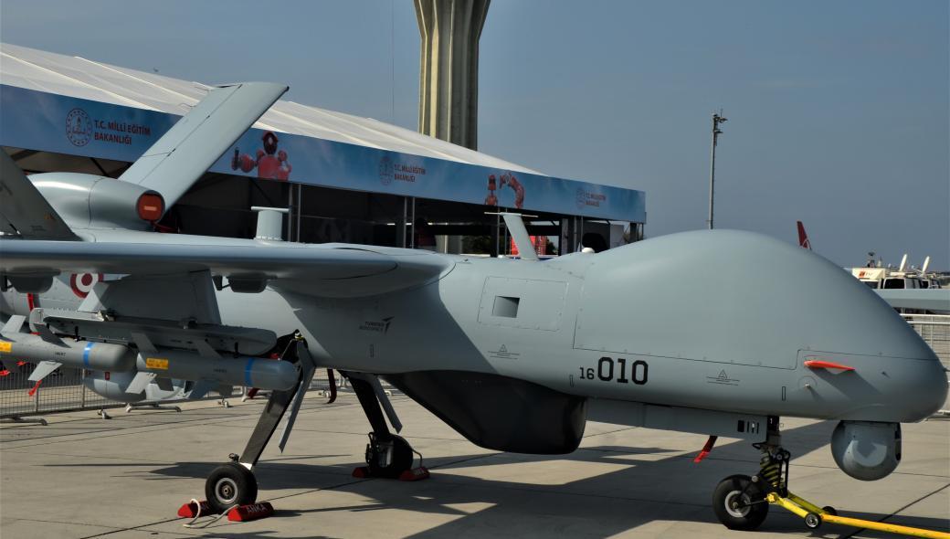 Το τουρκικό Ναυτικό παρέλαβε δύο νέα οπλισμένα UAV τύπου ANKA