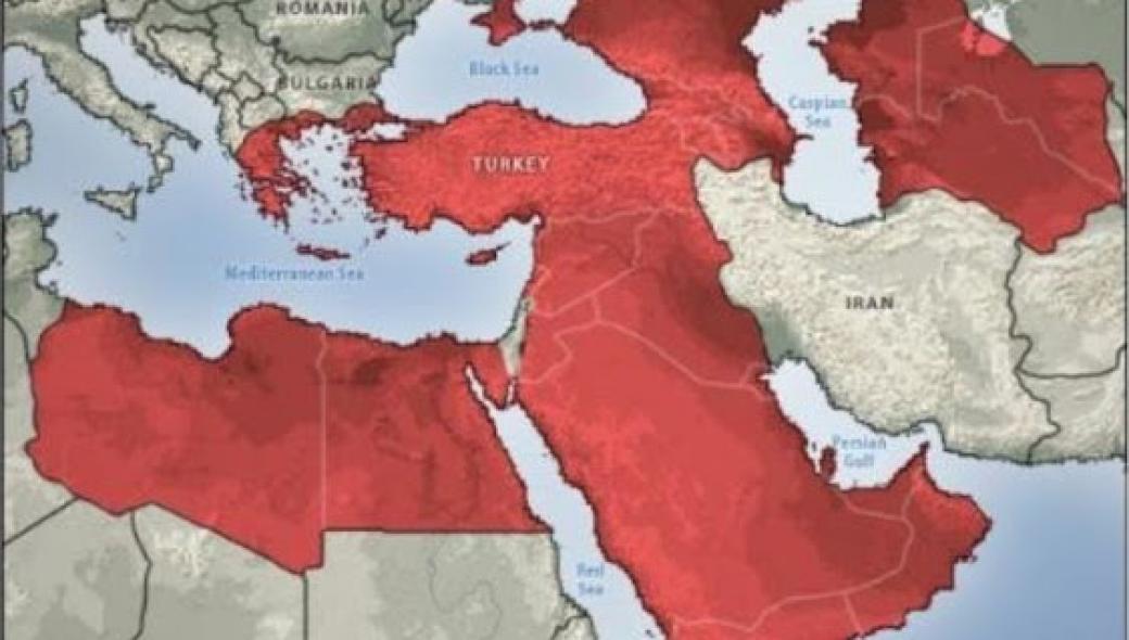 Προβληματισμός στην Ρωσία από χάρτη του Strafor: Η Τουρκία επεκτείνει την επιρροή της