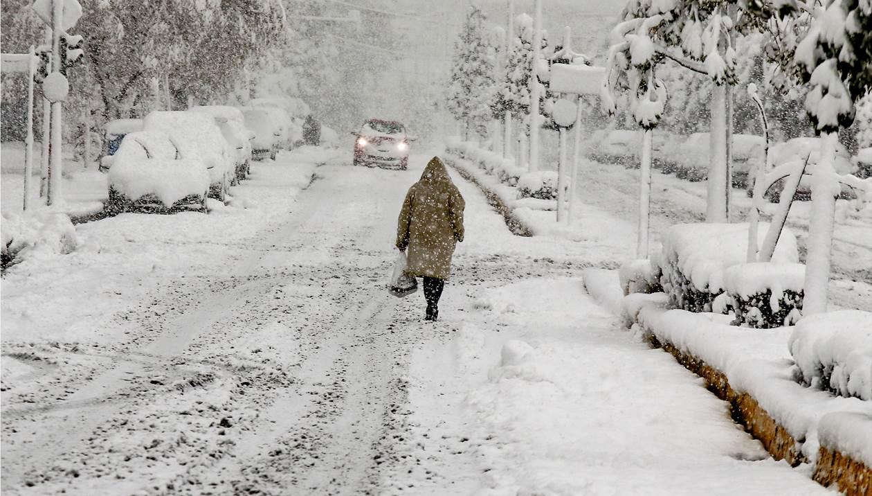 Η εξέλιξη της κακοκαιρίας «Μήδεια» στην Κρήτη: Που θα χιονίσει