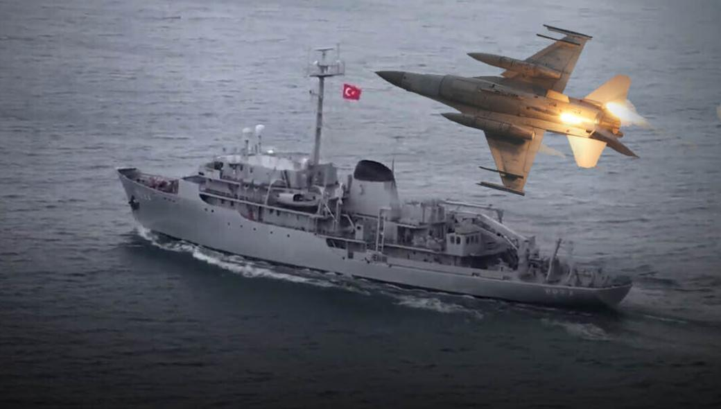 Βίντεο: Ελληνικά μαχητικά πάνω από το TCG Cesme – Εγκλωβίστηκαν από τουρκικά ραντάρ και έριξαν θερμοβολίδες (upd5)
