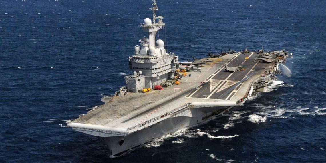 Φτάνει το «ιππικό»: Στην Ανατολική Μεσόγειο το αεροπλανοφόρο Charles de Gaulle