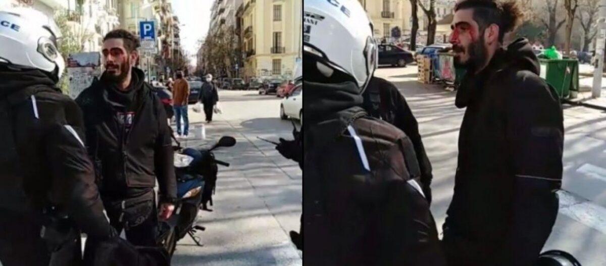 Θεσσαλονίκη: Δυνάμεις ασφαλείας χτύπησαν και συνέλαβαν πολίτη που πήγαινε στη δουλειά του (βίντεο)