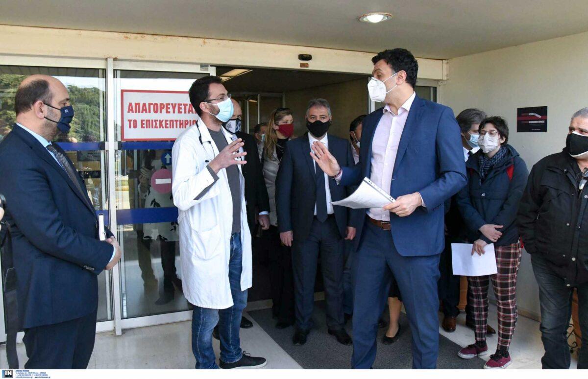 Κικίλιας: Έχουμε φτάσει τους 790.000 εμβολιασμούς σε όλη τη χώρα (pics)