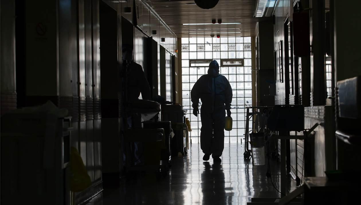 Διασωληνώθηκε 42χρονος ασθενής με κορωνοϊό στην ΜΕΘ του Νοσοκομείου Ρεθύμνου
