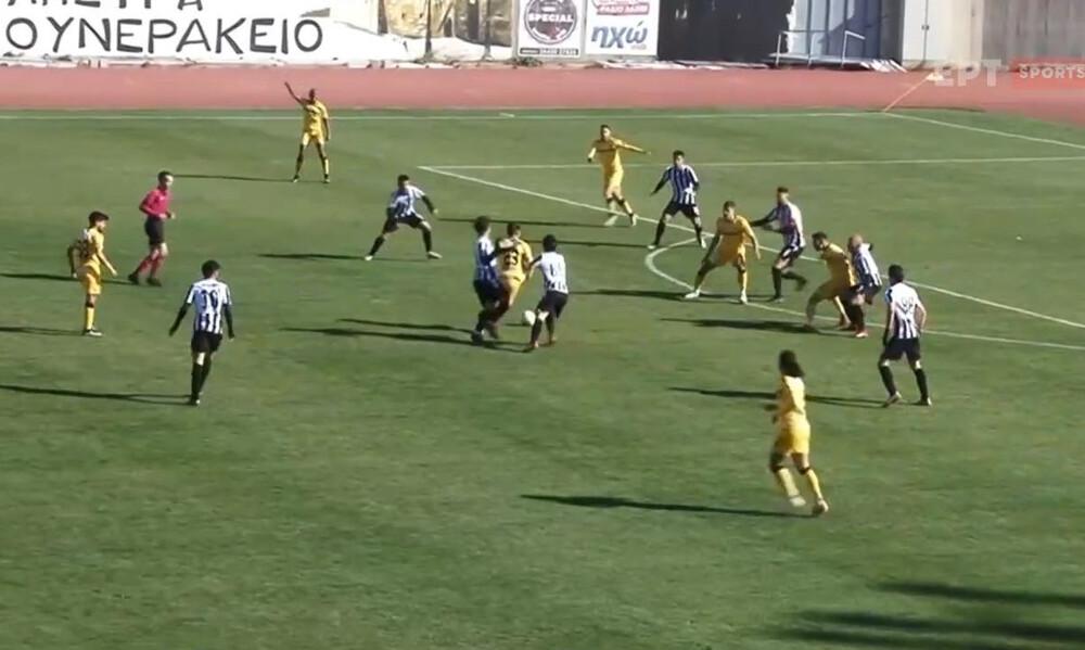 ΟΦ Ιεράπετρας - Εργοτέλης 0-1: Νίκησε και βλέπει κορυφή