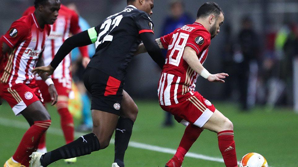 Europa League, Ολυμπιακός-Αϊντχόφεν 4-2: Ερυθρόλευκος θρίαμβος στη ματσάρα – Δείτε τα γκολ