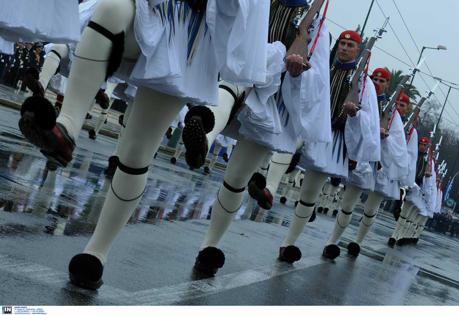 Παρέλαση 25ης Μαρτίου: Στο Σύνταγμα, αλλά μόνο η στρατιωτική