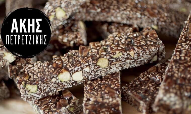 Θρεπτικό και νόστιμο! Συνταγή για παστέλι με σοκολάτα από τον Άκη Πετρετζίκη