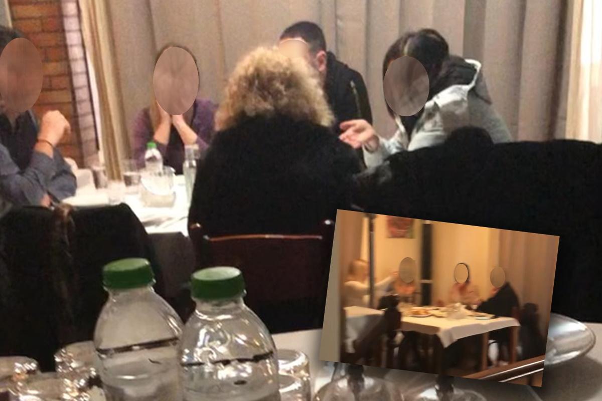 Βίντεο ντοκουμέντο από το prive εστιατόριο που λειτουργούσε παράνομα στη Θεσσαλονίκη