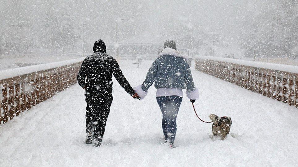 Κακοκαιρία «Μήδεια»: Παγετός αύριο στο μεγαλύτερο μέρος της χώρας – Δείτε αναλυτικά την πρόγνωση