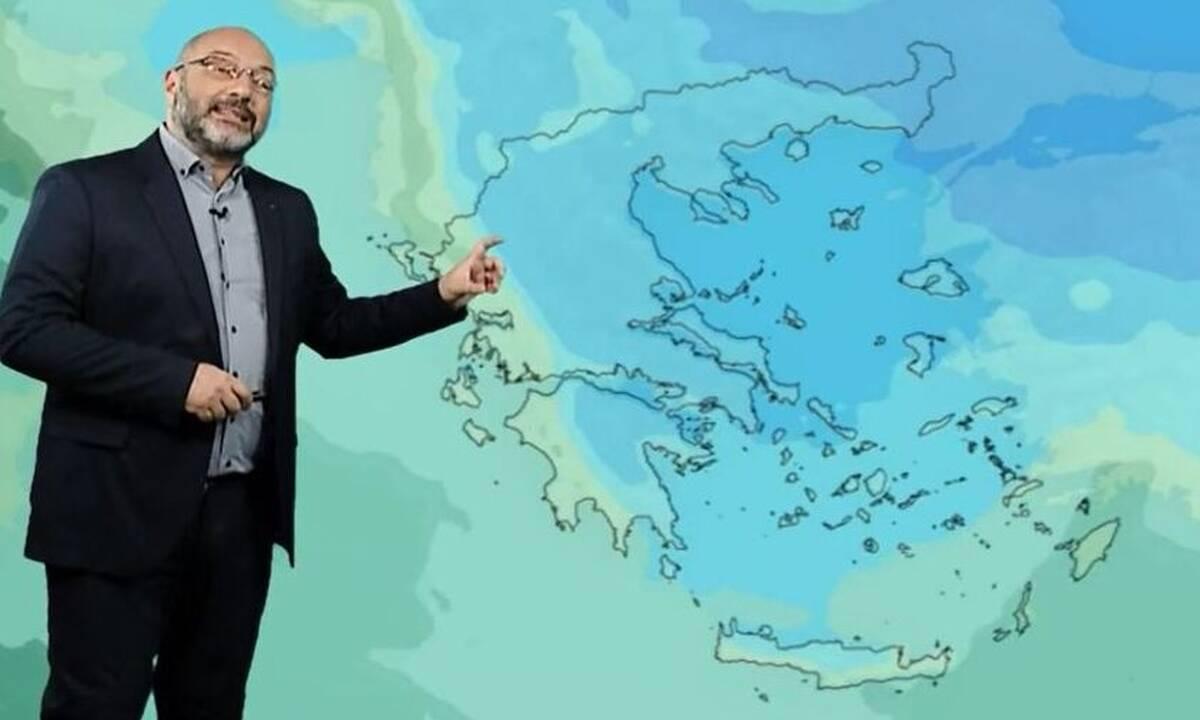 Αλλάζει ο καιρός, πέφτει η θερμοκρασία – Τι λέει ο Σάκης Αρναούτογλου