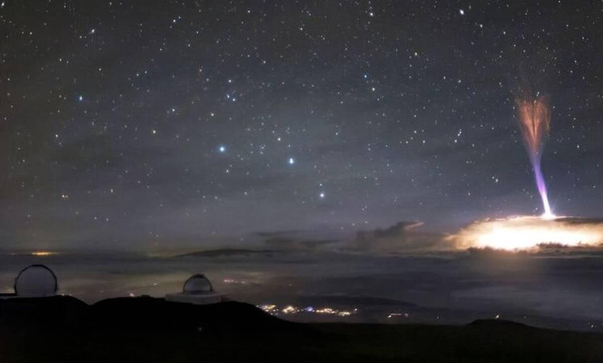 Χαβάη: Η απόκοσμη εικόνα που συνδυάζει δύο σπάνια φαινόμενα (pics)