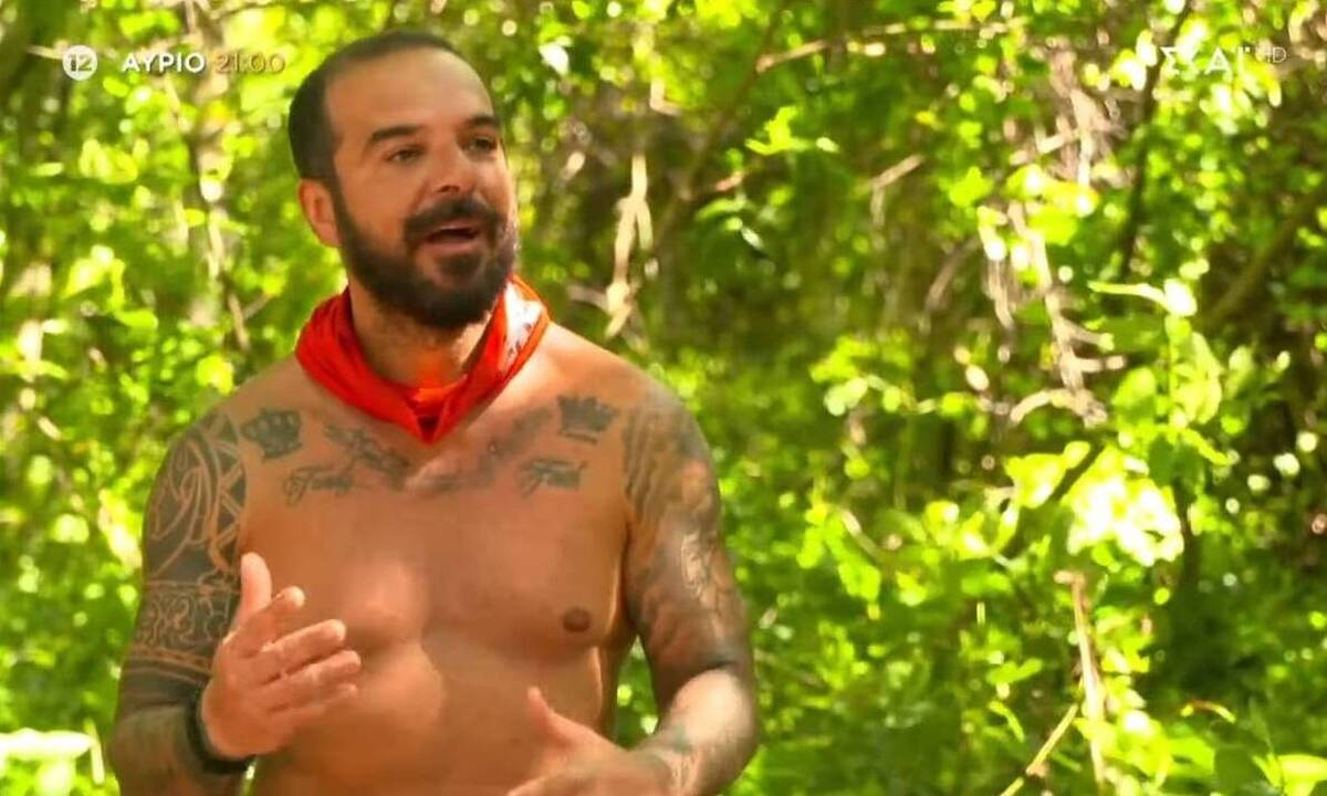 Survivor: Ο Τριαντάφυλλος προσπάθησε να κάνει τον Ταρζάν και «έφαγε» σαβούρα (vid)