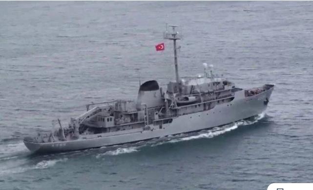 Οι Τούρκοι έβγαλαν και πάλι το Τσεσμέ στο Αιγαίο