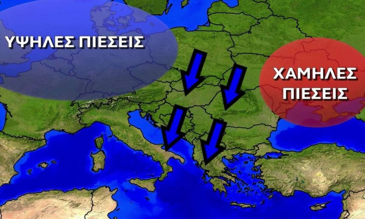 Καιρός: Σενάριο για πολικό ψύχος και χιόνια ξανά τον Μάρτιο ή ισχυρές καταιγίδες