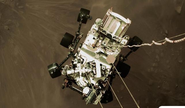 Το ρόβερ της NASA έστειλε την ηχογράφηση από τον «Κόκκινο Πλανήτη»