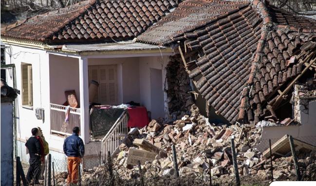 Σεισμός στην Ελασσόνα: Μη κατοικήσιμα 70 σπίτια σε τέσσερα χωριά
