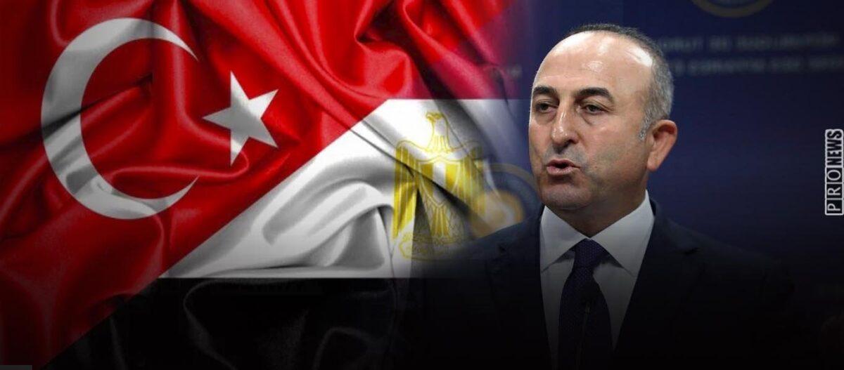 Ο Μ.Τσαβούσογλου ανήγγειλε την έναρξη συνομιλιών Αιγύπτου-Τουρκίας για τον τεμαχισμό της ελληνικής υφαλοκρηπίδας