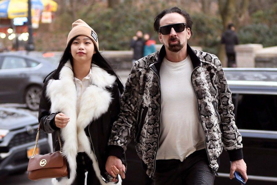 Nicolas Cage: Φωτογραφίες από τον 5ο του γάμο δίπλα στην 26χρονη Riko Shibata