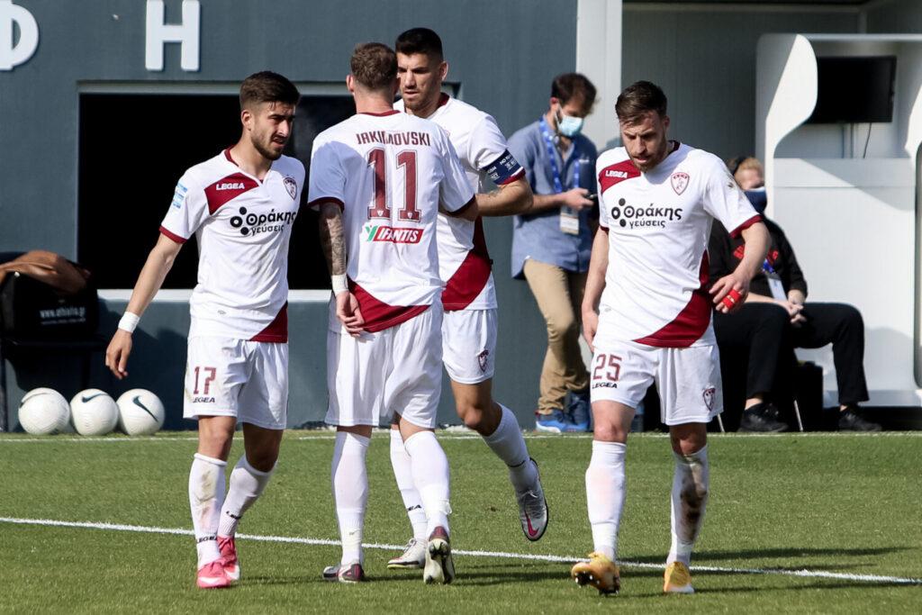 Μεγάλη νίκη της Λάρισας με 3-2 μέσα στον ΟΦΗ