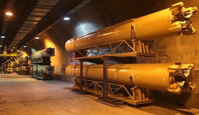 Ιράν: Οι Φρουροί της Επανάστασης αποκαλύπτουν την υπόγεια «πόλη των πυραύλων» [vid]
