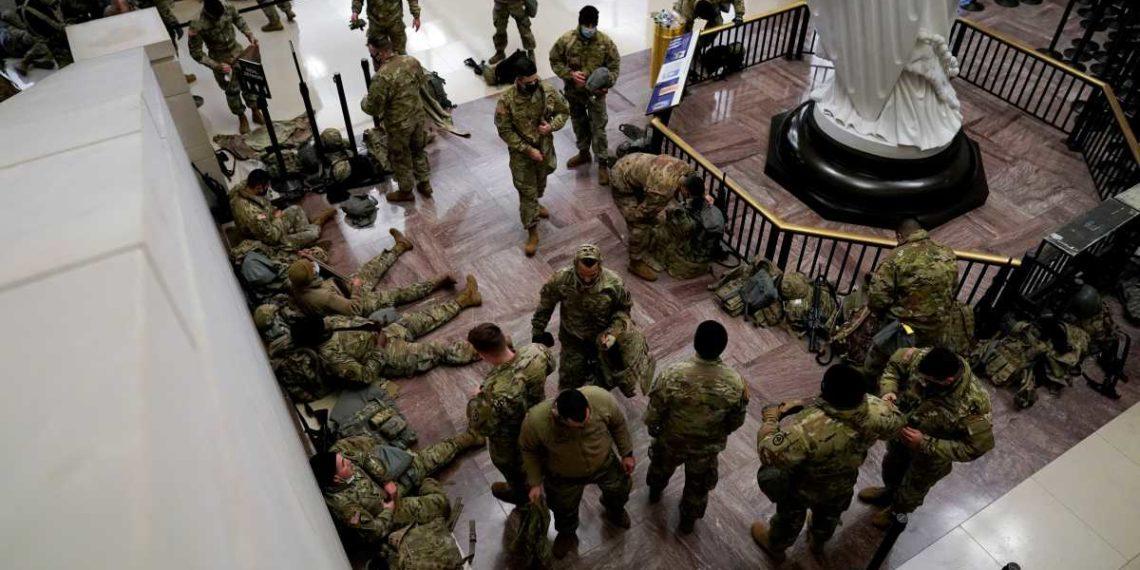 Καπιτώλιο: Η αστυνομία αναφέρει ενδεχόμενη απόπειρα εισβολής από παραστρατιωτική ομάδα