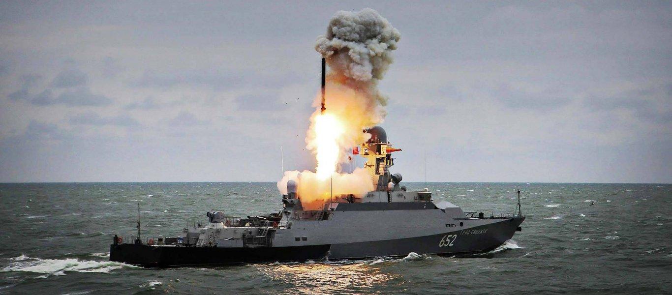 ΕΚΤΑΚΤΟ: Προς ανάφλεξη σε Αν.Ουκρανία και Αν.Μεσόγειο: Εκτόξευση ρωσικού πυραύλου cruise προς αμερικανικά πλοία