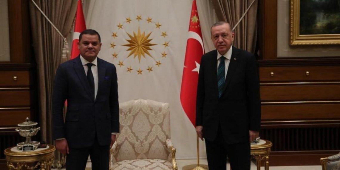 Λιβύη: Μυστική επίσκεψη του προσωρινού πρωθυπουργού Ντμπέιμπα στην Τουρκία – Τι είπε με τον Ερντογάν