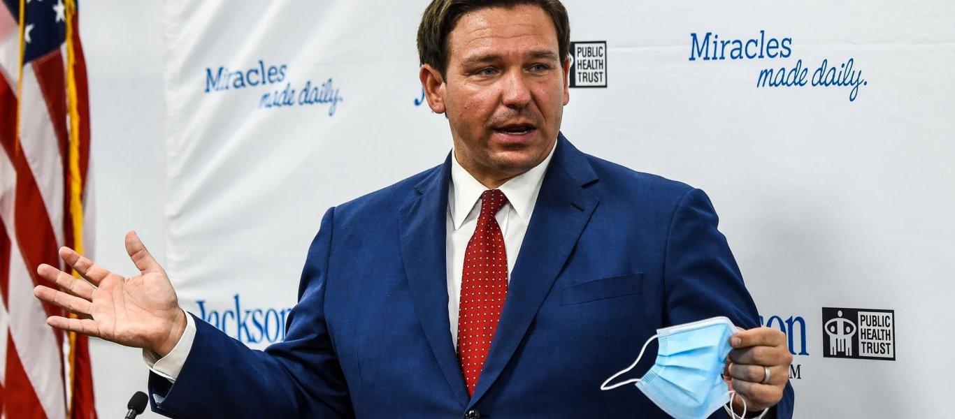 «Αντάρτικο» από τον κυβερνήτη της Φλόριντα: Εκτελεστικό διάταγμα για την απαγόρευση των διαβατηρίων εμβολιασμού