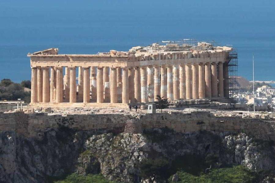 Γάλλος αστροναύτης τιμά την Ελλάδα με μία απίθανη εναέρια φωτογραφία