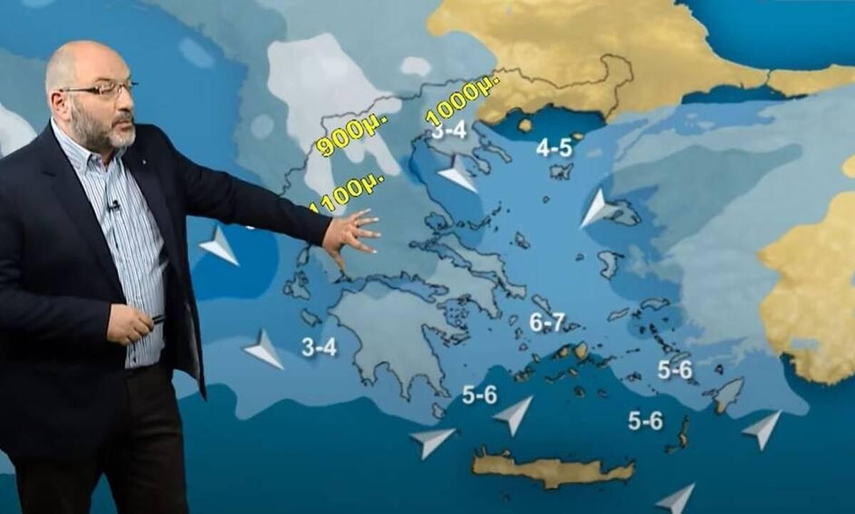 Καιρός: Βροχές… χαράς για αγρότες, αλλά όχι για όλους! Τι θα συμβεί το Σαββατοκύριακο;