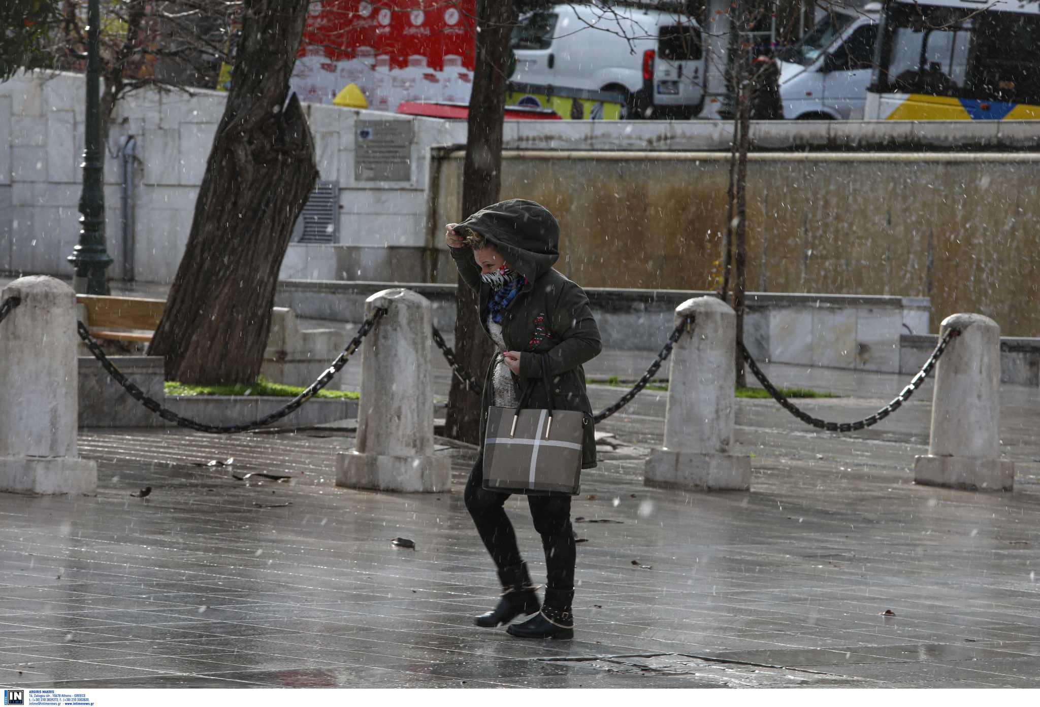 Καιρός 25ης Μαρτίου: Κρύο και βροχή στο μεγαλύτερο μέρος της χώρας – Πού θα χιονίσει στην Αττική