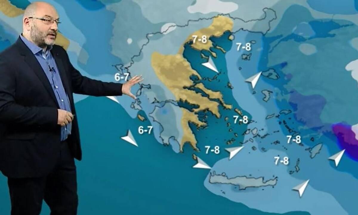 Καιρός – Αρναούτογλου: Πέφτει η θερμοκρασία από Τετάρτη, όλα ανοικτά για μετά τις 15 Μαρτίου