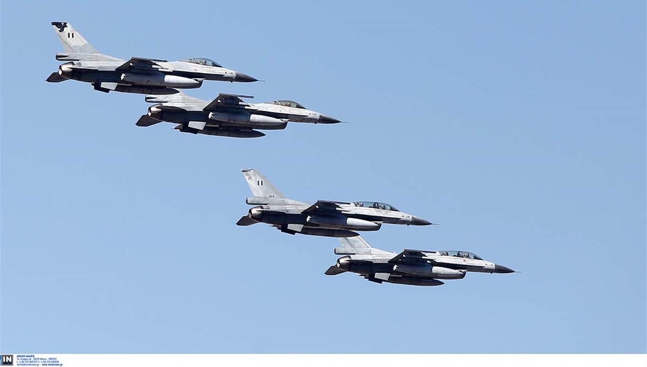 Εντυπωσιακές εικόνες από άσκηση των ενόπλων δυνάμεων στον κρητικό ουρανό