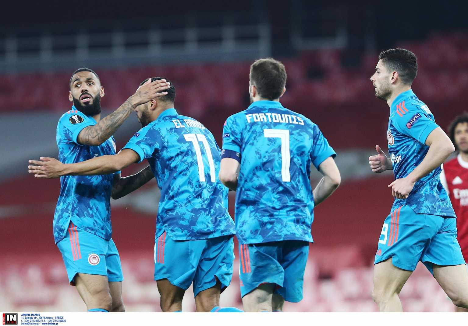 Άρσεναλ-Ολυμπιακός 0-1: Σπουδαία νίκη αλλά… πικρός αποκλεισμός