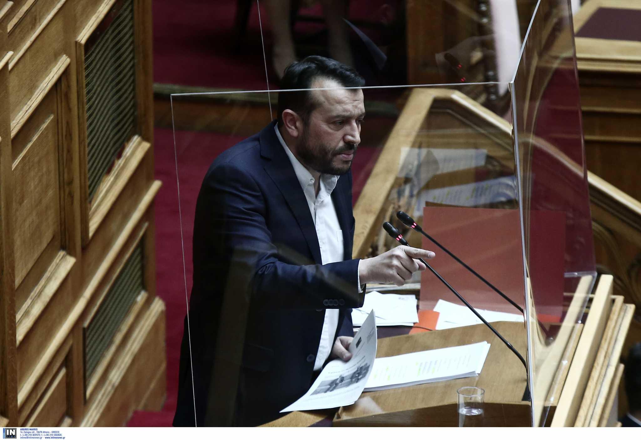 Νίκος Παππάς: Διάτρητη, αποσπασματική και προσβλητική η πρόταση της ΝΔ