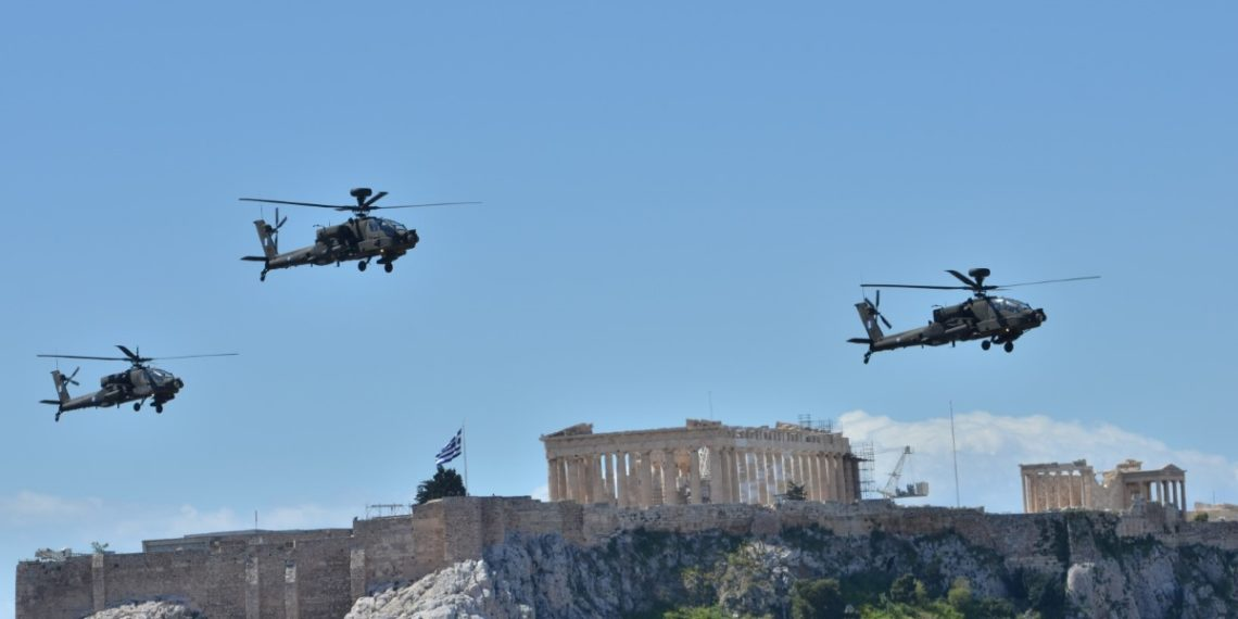 Παρέλαση 25ης Μαρτίου: Θα γεμίσει μαχητικά αεροσκάφη όλος ο ελληνικός εναέριος χώρος!