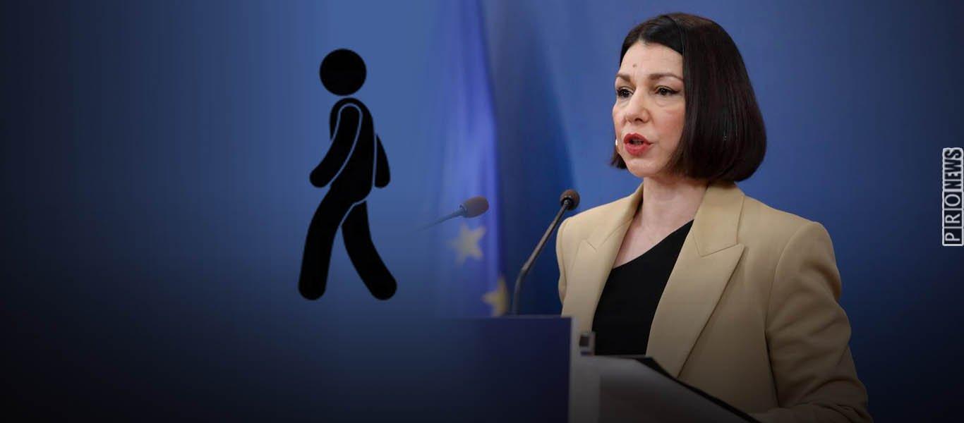 Απίστευτο: Η κυβέρνηση απαγορεύει βόλτες με αυτοκίνητο! – «Μετακινήσεις μόνο με τα πόδια» λέει η Α.Πελώνη