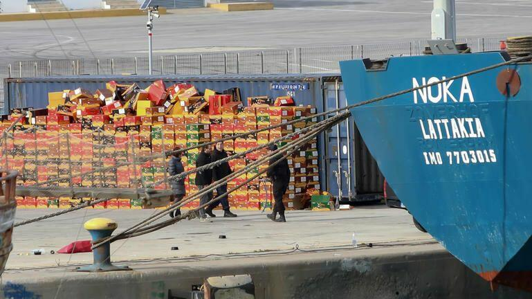 Φεύγει από το Ηράκλειο το NOKA – Στ' αμπάρια του είχαν βρεθεί ναρκωτικά 100 εκατ. ευρώ