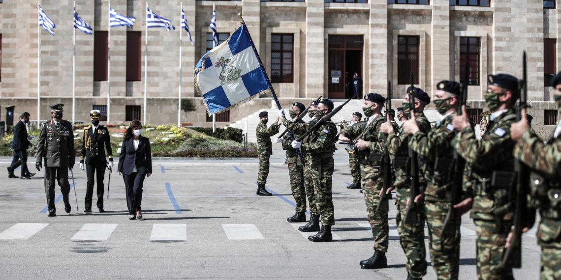 Παρουσία της ΠτΔ Σακελλαροπούλου ο εορτασμός της επετείου Ενσωμάτωσης Δωδεκανήσου [pics]
