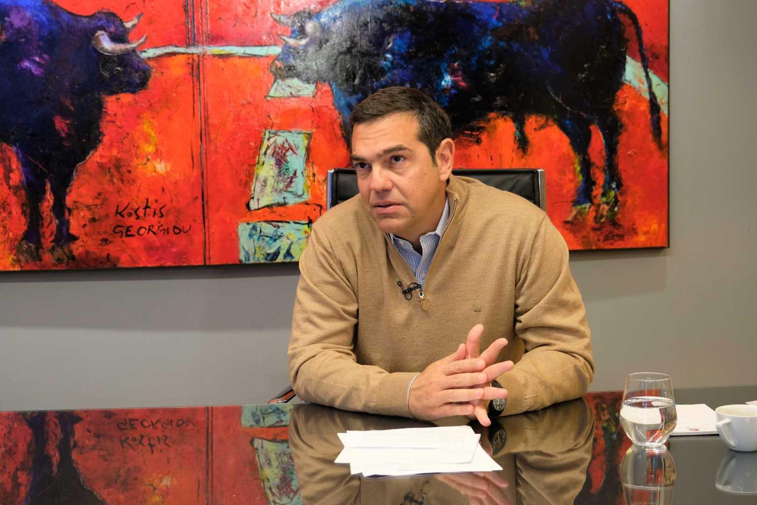 Τσίπρας: Κυβέρνηση θέατρο του παραλόγου – Δέσμη μέτρων για την επανεκκίνηση της εστίασης