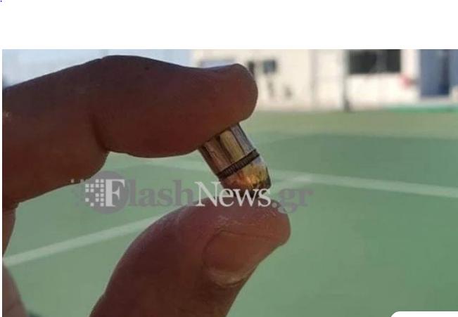 Σφαίρα καρφώθηκε σε γήπεδο τένις στα Χανιά – Εκείνη την ώρα έπαιζαν δύο άτομα