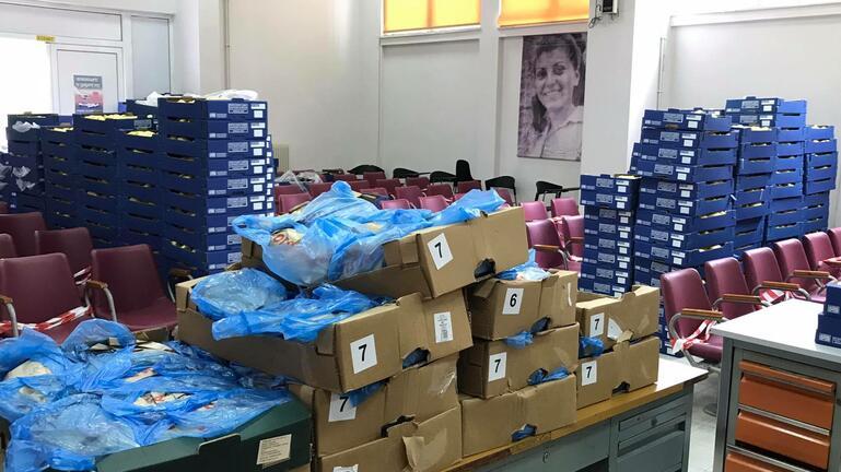 Διανομή τροφίμων από το Εργατικό Κέντρο Ηρακλείου