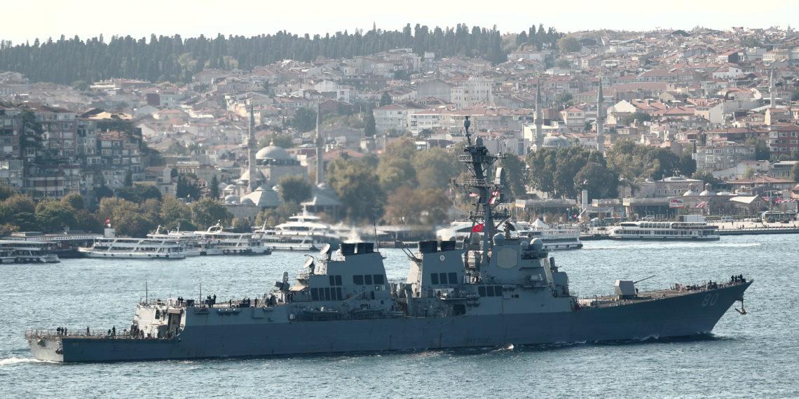 «Ενοχλήθηκε» ο Πούτιν και «τα είπε» στον Ερντογάν με φόντο τα πλοία των ΗΠΑ στη Μαύρη Θάλασσα